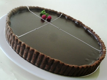 Тарт с шоколадом