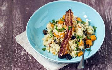 Блюда из риса - осенний ризотто рецепт с тыквой 3