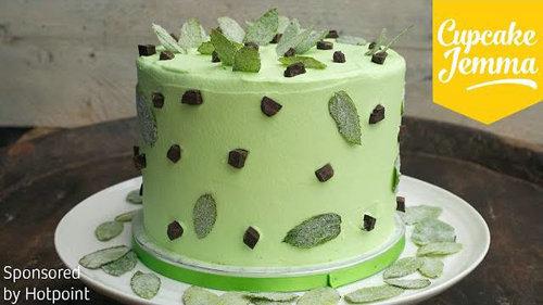 Слоеный торт - мятно-шоколадный рецепт от Джеммы