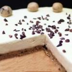 Чизкейк без выпечки рецепт с печеньем