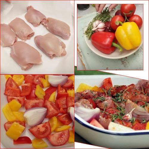 Мастер-класс Вкусная курица в духовке