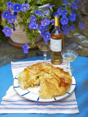 Пирог с яблоками рецепт Свадебная фата