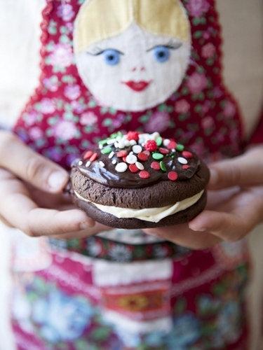 Шоколадное печенье рецепт whoopie pie