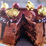 Шоколадный торт Ферреро роше
