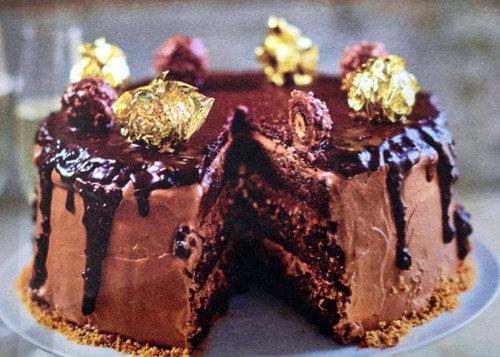 Шоколадный торт рецепт Ферреро роше
