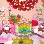 Праздничный торт РАДУГА пекут наши гости