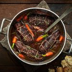 Блюда из говядины рулетики оливки