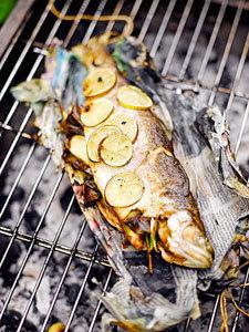 6. Рыба на гриле
