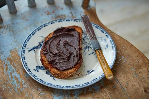 Завтрак для детей. Шоколадная паста рецепт с орехами