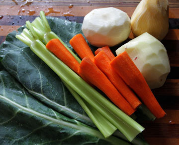 Приготовить все овощи