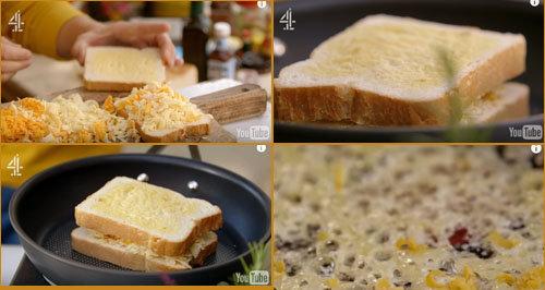 2. Сэндвич с сыром