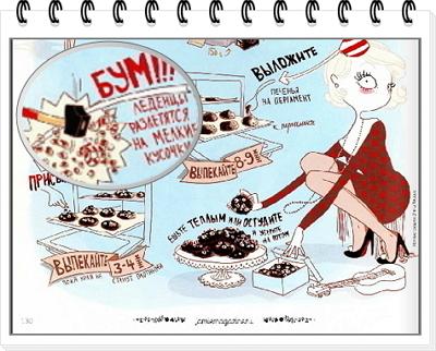 Шоколадное печенье рецепт 4