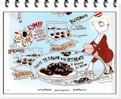 Шоколадное печенье рецепт 8