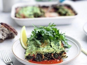 Каннеллони с овощами
