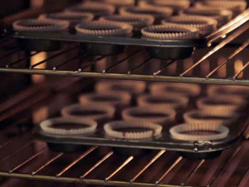 Шоколадные капкейки 10