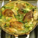 Курица рецепт с виноградом