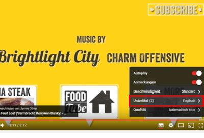 Настройки титров в видео 2