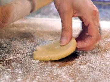 Мастер-класс Корзиночки из песочного теста. Шаг 11