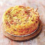 Рецепт спагетти Пирог карбонара