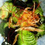 Салат из свежих огурцов