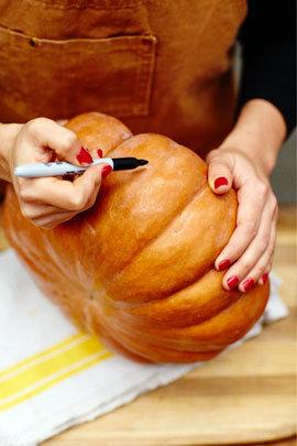 Как приготовить тыкву для Хэллоуина 1