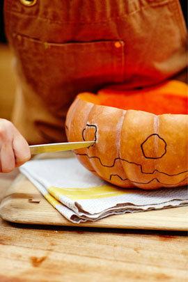 Как приготовить тыкву для Хэллоуина 3