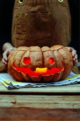 Мастер класс Как приготовить тыкву для Хэллоуина