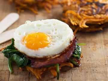 Мастер класс Завтрак с яйцами и беконом 5