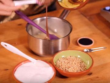Мастер класс Торт брауни Рецепт Ferrero Rocher 6