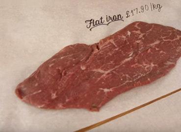 Плоский стейк flat iron стейк