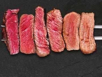 Степень запекания мяса