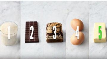 Шоколадное печенье. Ингредиенты