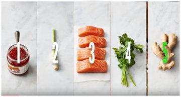 Ингредиенты котлеты из лосося