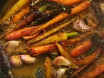 Мастер класс Джейми Оливера Баранина с морковью 10