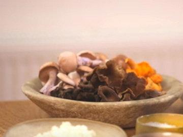 Панкейки с рикоттой и грибы 1