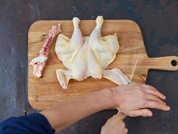Курица в стиле бабочка 6