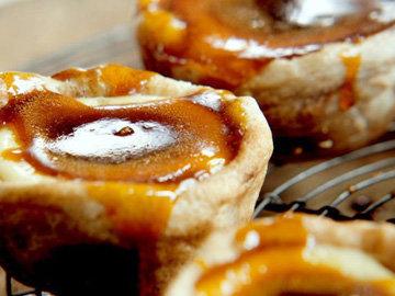 Португальские пирожные с карамелью