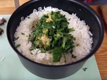 готов ароматный вкусный рис