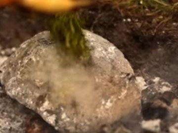 Горячий камень