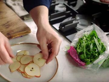 Нарезать грушу