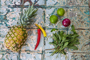 Сальса рецепт с ананасом