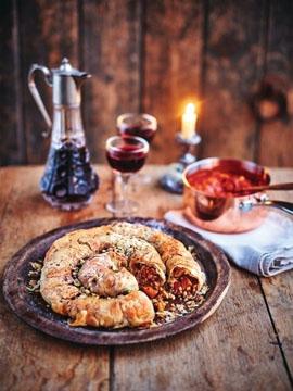 2. Марокканский пирог M'hanncha