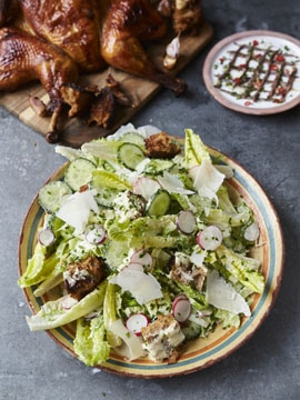4. Ультимативный салат Цезарь с курицей