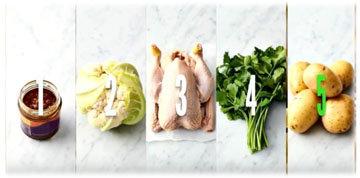 Жареная курица тикка Ингредиенты