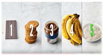 Замороженный чизкейк - 5 ингредиентов!