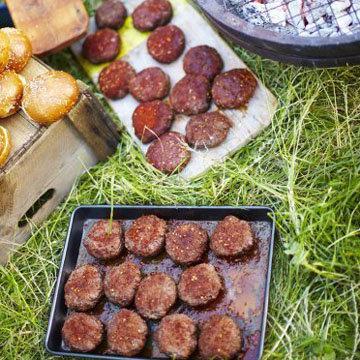 Марокканские гамбургеры из баранины