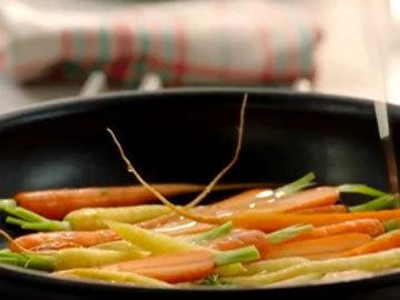Мастер класс Джейми Оливера Салат из моркови и зерновых 1