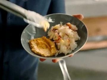 Мастер класс Джейми Оливера Спагетти с крабовым мясом и фенхелем 6