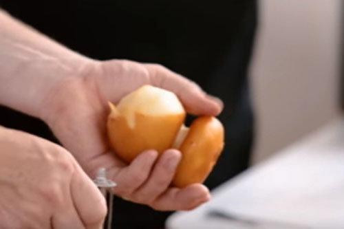 9. Сыр скармоза очистить