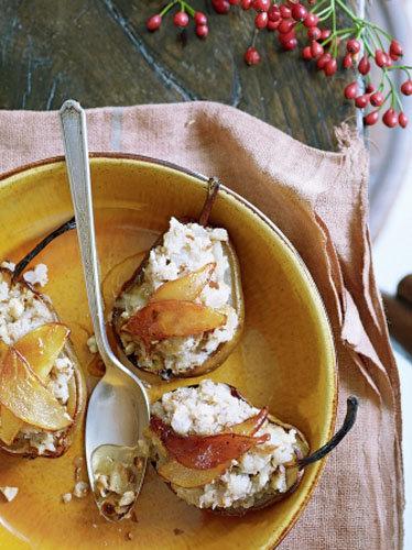 Десерт из груши